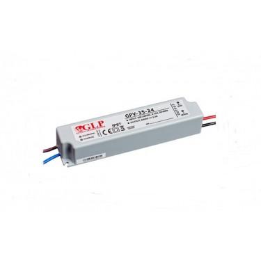 Zasilacz LED GPV 12V 12W Hermetyczny