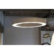 LED Ring 75 White Gloss