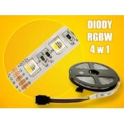 LED strip (5m reel) 300 LED SMD 5050 RGB and white ECO