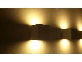 Cubic LED 70 2x3W 230V White 2700K