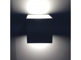 Cubic LED 70 2x3W 230V Black 5000K