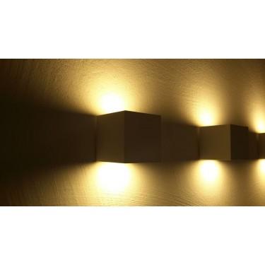 KUBIK 2 - lampa ścienna 2-kierunkowa White