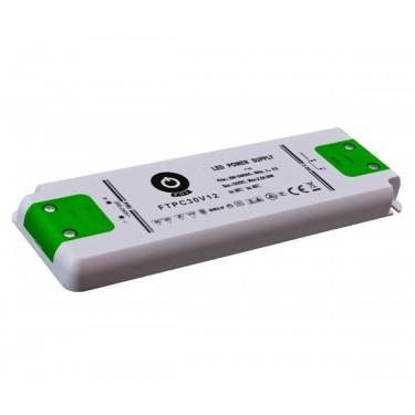 Zasilacz LED 12V 30W płaska obudowa