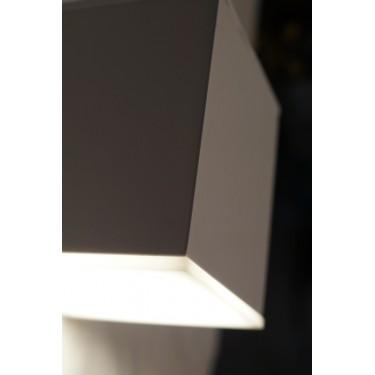 KUBIK - lampa ścienna 1-kierunkowa White