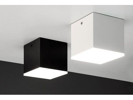 Kubik LED mini Biały mat