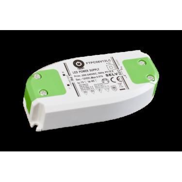 Zasilacz LED 12V 6W zamykane zaciski płaski