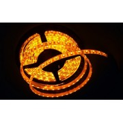 LED strip (5m reel) 300 LED SMD 3528 amber waterproof HQ IP65