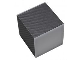 Cubic LED 70 2x3W 230V Carbon 3000K