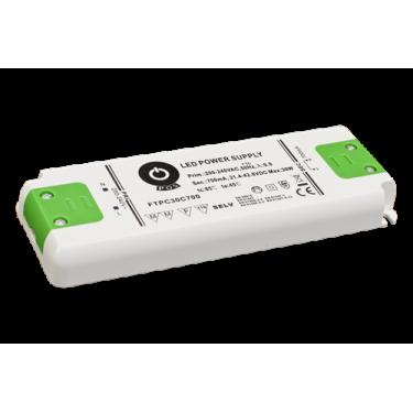Zasilacz LED 350mA 0-34V 11,9W płaski