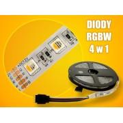 LED strip (5m reel) 300 LED SMD 5050 RGB and white