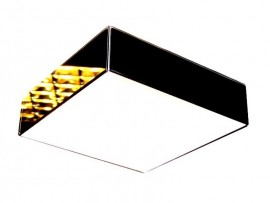 Plafon LED Black Glass