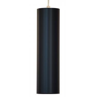 Tuba LED 80/300 Zwieszana Czarny Mat skośna