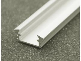 Profil LED 2mb biały klosz klik transparentny