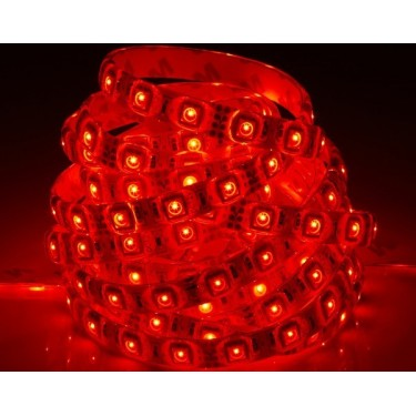 Taśma 300 LED SMD 3528 hermetyczna czerwona