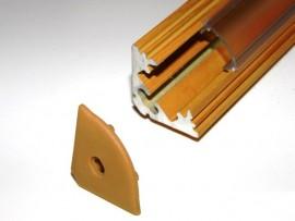 Profil LED narożny Drewno sosna 2mb