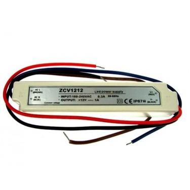 Zasilacz LED ZCV-12-12 12V 12W