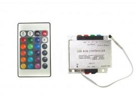 Sterownik LED IR 18A + pilot