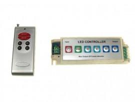 Sterownik LED RGB RF 12A Panel + pilot