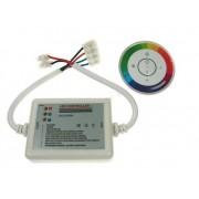 Sterownik LED RF dotykowy 18A okrągły