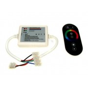 Sterownik LED RF dotykowy 18A czarny