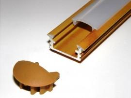 Profil LED 2mb drewno sosna klosz klik mleczny