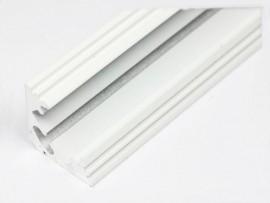 Profil LED 2mb narożny (kątowy) 45 biały klosz klik mleczny