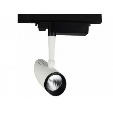 Projektor LED ZOEN na szynę 3-fazową 15W Biały zimny