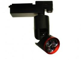 Projektor LED SADI na szynę 3-fazową 15W Biały ciepły