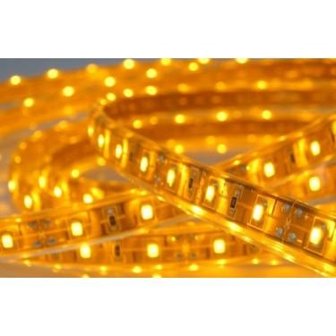 Taśma 150 LED SMD 3528 żółta IP65
