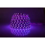 LED strip (5m reel) 300 LED SMD 3528 purple IP33 HQ