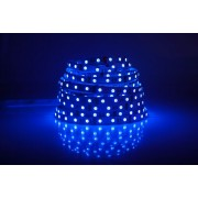 LED strip (5m reel) 300 LED SMD 3528 blue IP33 HQ