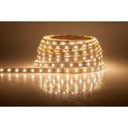 LED strip (5m reel) 300 LED SMD 3528 warm white waterproof IP65 5mm