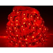 LED strip (5m reel) 300 LED SMD 3528 red waterproof HQ IP65