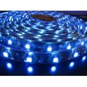 LED strip (5m reel) 300 LED SMD 3528 blue waterproof HQ IP65