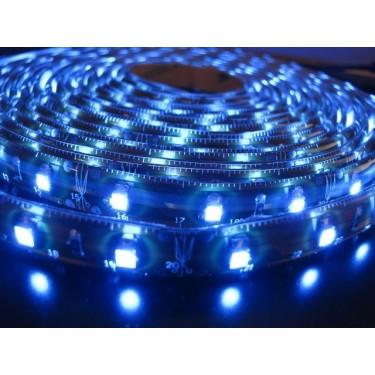 Taśma 300 LED SMD 3528 hermetyczna niebieska