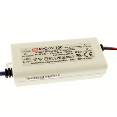 LED Power supply Mean Well APC-12-700 12W