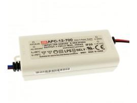 Zasilacz LED Mean Well APC-12-700 12W