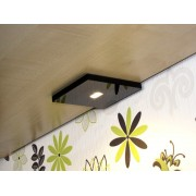 CabiLED MAX Black - Special for cabinet furniture Warm white (2700K)