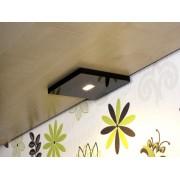 CabiLED MAX Black- Specjalnie pod szafki Biały ciepły (2700K)