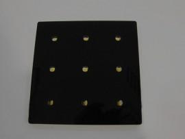 iPanel - Design i Oszczędność Black Biały ciepły (3000K)
