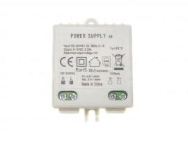 Zasilacz LED mini 330mA 8-12V 3W Płaski