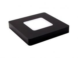 Kwadrat Power Square Black 3000K
