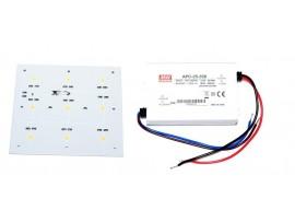 2 x iPower 4000K + zasilacz APC-25-350