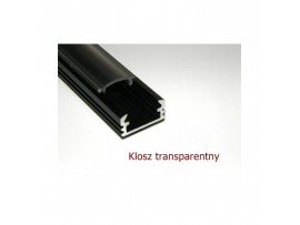 """Klosz """"klik"""" transparentny 2mb"""