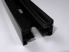 black linear track lighting section 1 phase black linear track lighting