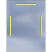 Lustro LED Standard 60x80 2520lm 3000K