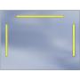 Lustro LED Standard 80x60 2940lm 3000K