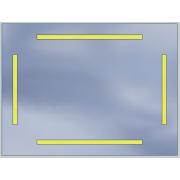 Lustro LED Standard 80x60 4200lm 3000K