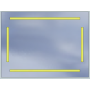Lustro LED Standard 80x60 5040lm 3000K
