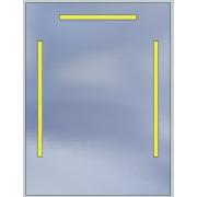 Lustro LED Standard 60x100 2520lm 3000K